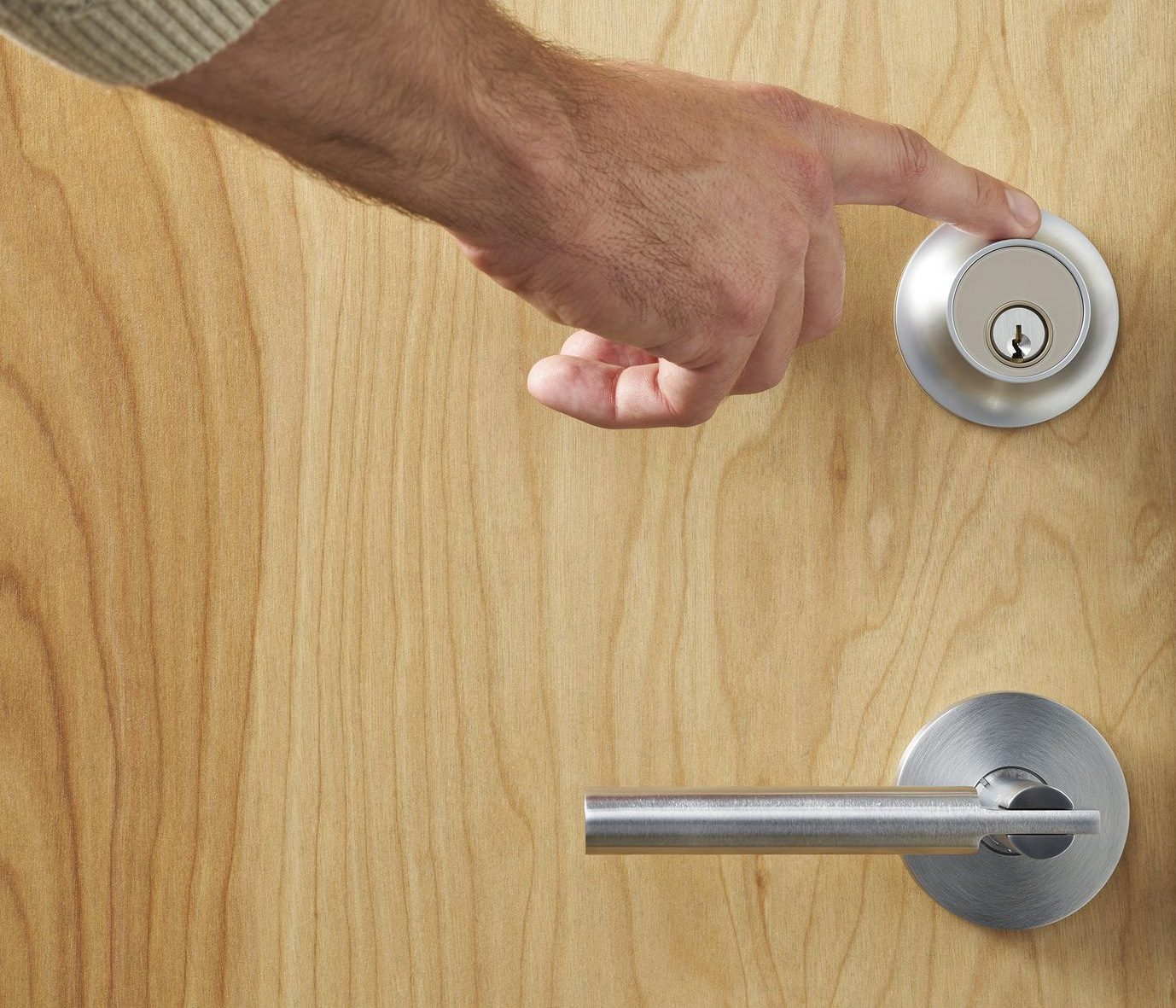 The Touch Lock from Level Lets You In Key-free at werd.com