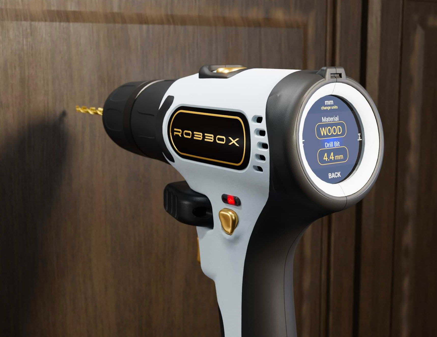Laser-Level Twice, Drill Once with the xDrill at werd.com