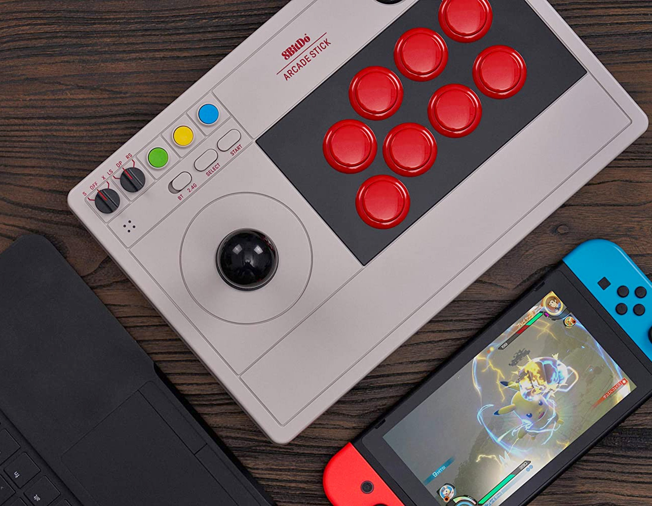 Switch It Up with 8BitDo's Wireless Arcade Stick at werd.com
