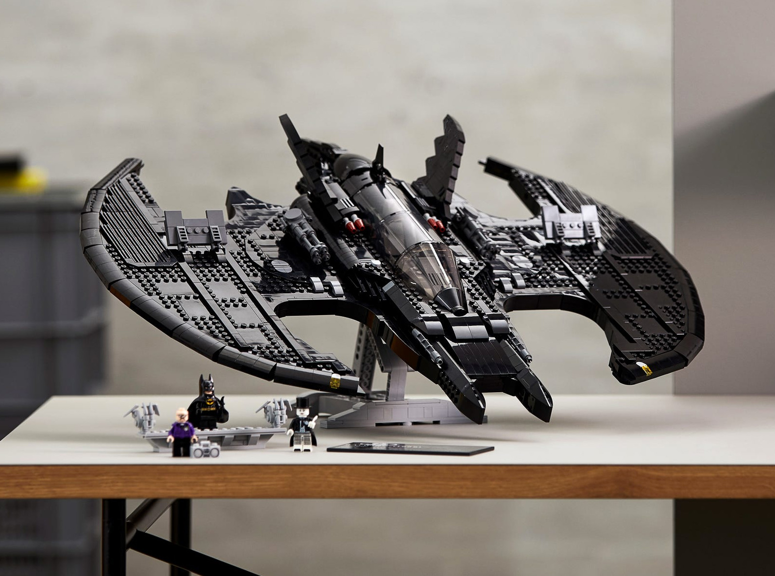 Big Build: LEGO Batman 1989 Batwing at werd.com