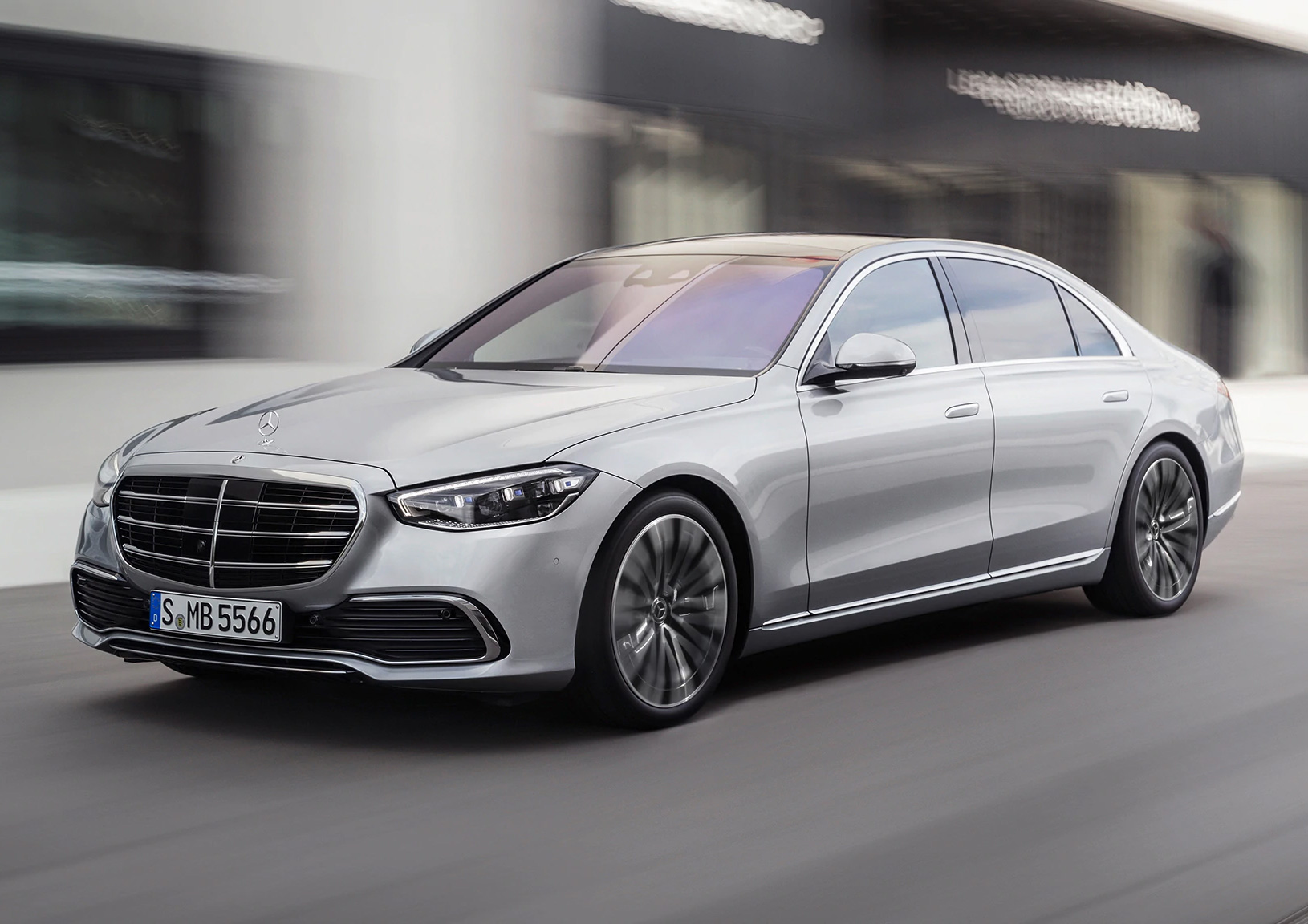 Mercedes Unveils Redesigned 2021 S-Class at werd.com