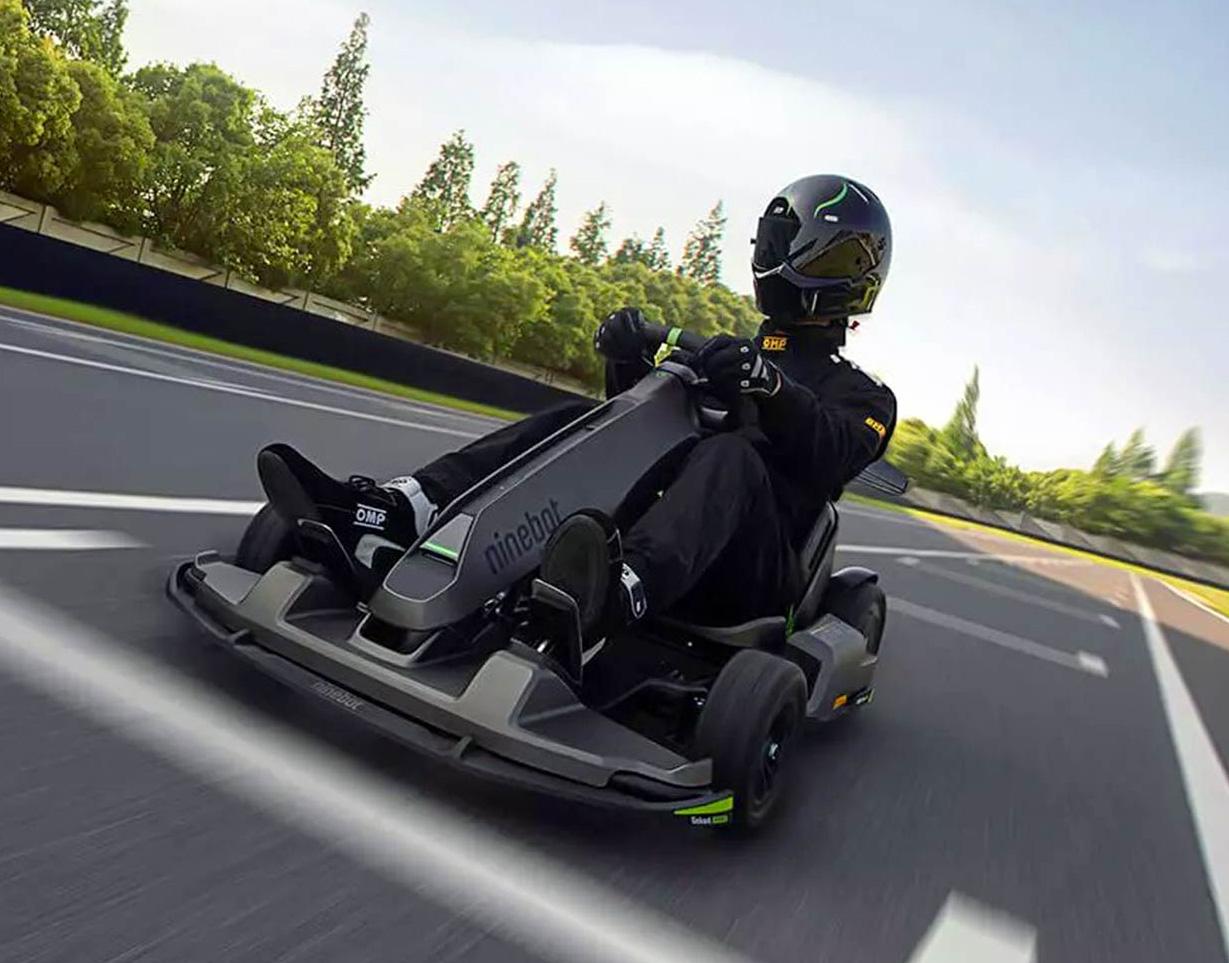 Catch The Drift in Ninebot's Gokart PRO