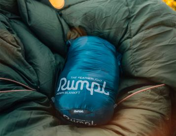 The Rumpl Featherlite is Down for Adventure