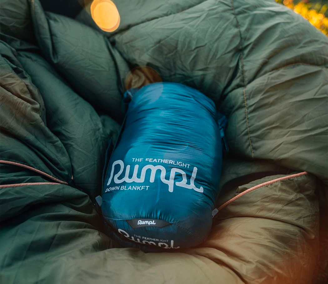 The Rumpl Featherlite is Down for Adventure at werd.com