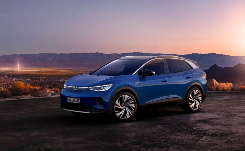 Volkswagen Debuts All-Electric ID.4 SUV