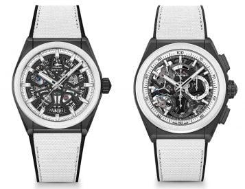 Sharp Looks: Zenith Defy Black & White Boutique Editions