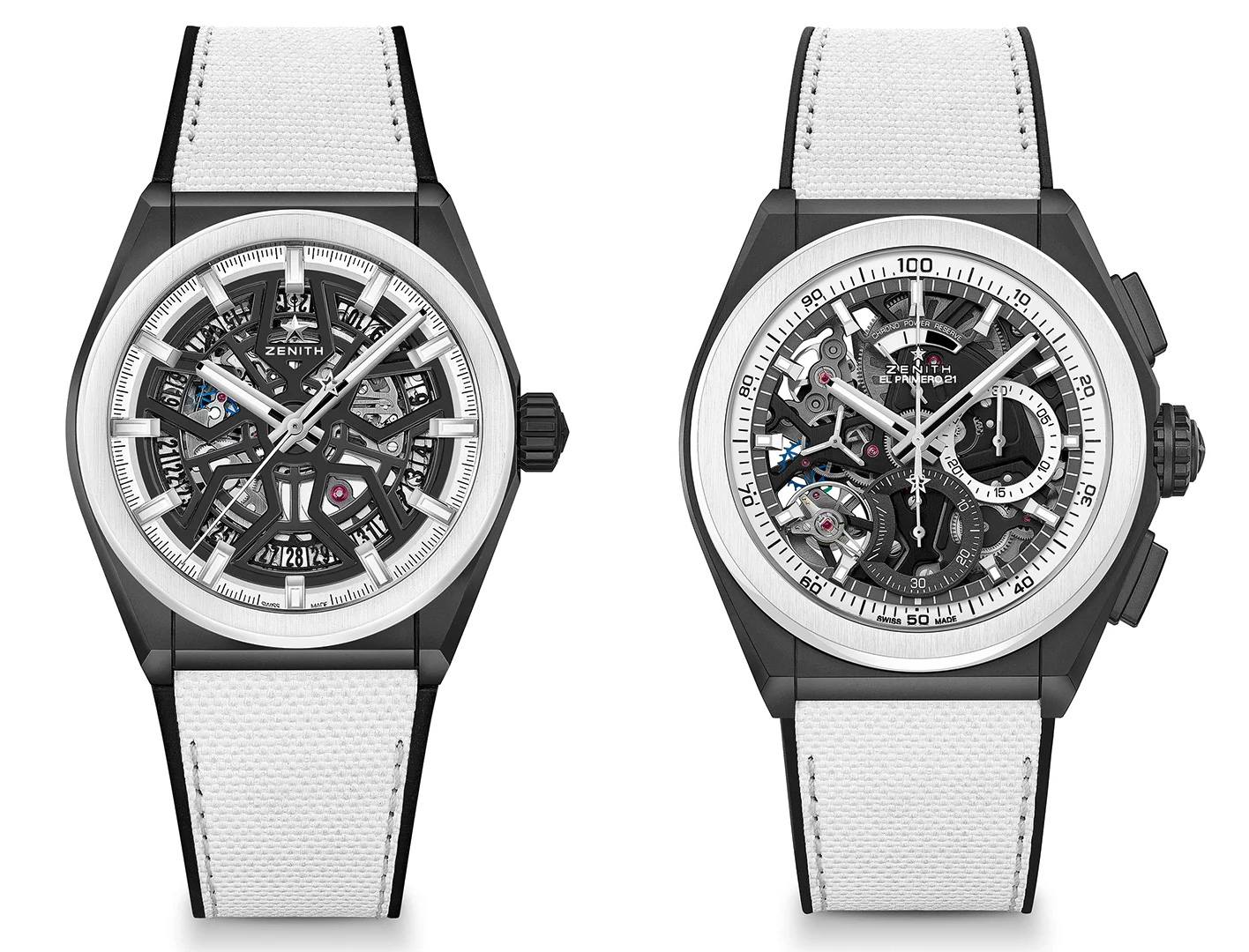 Sharp Looks: Zenith Defy Black & White Boutique Editions at werd.com