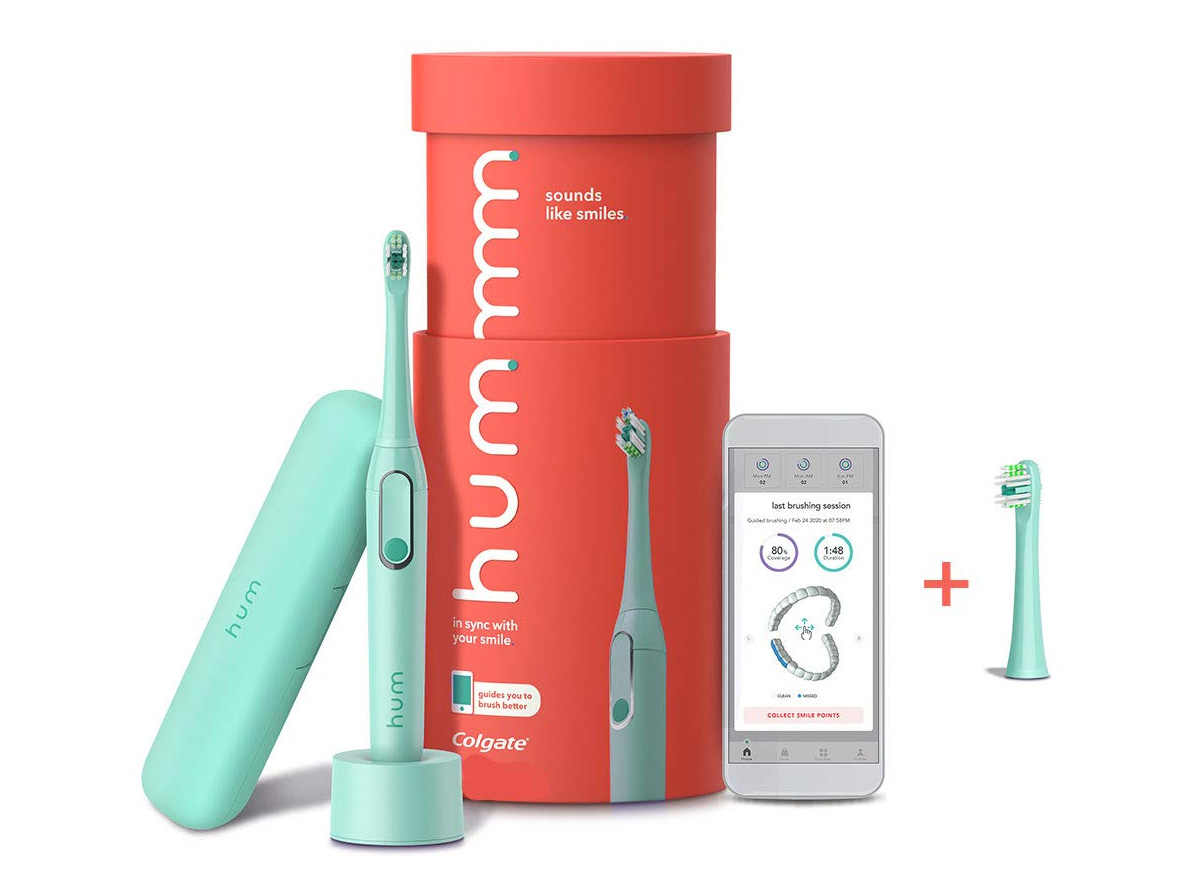 Brush Smarter with Colgate Hum Toothbrush at werd.com