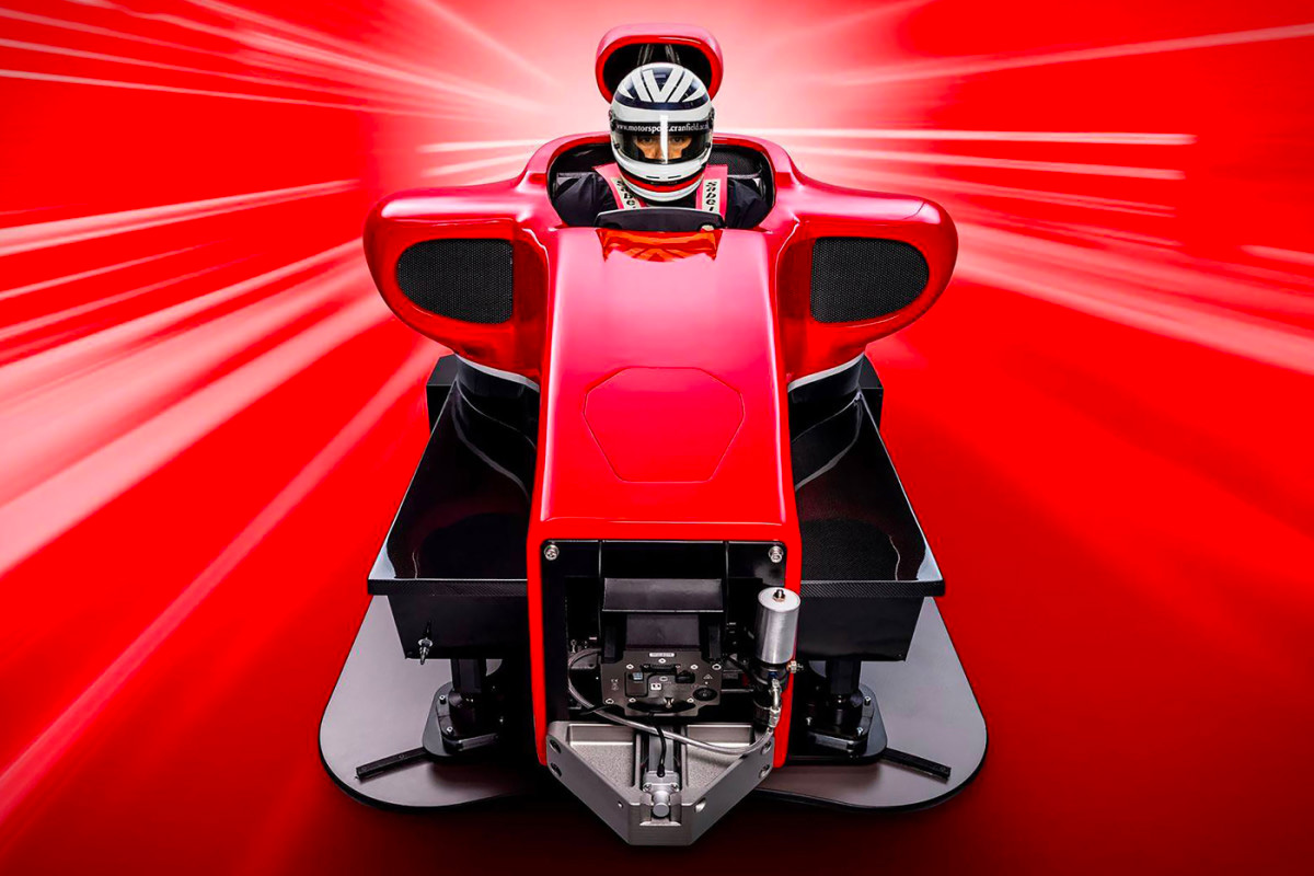 Train for Formula One at Home with Cranfield F1 Simulator at werd.com