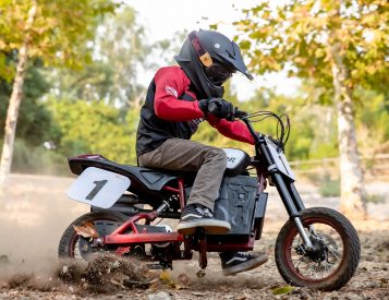 Indian Rolls Out an Electric Scrambler for the Kids