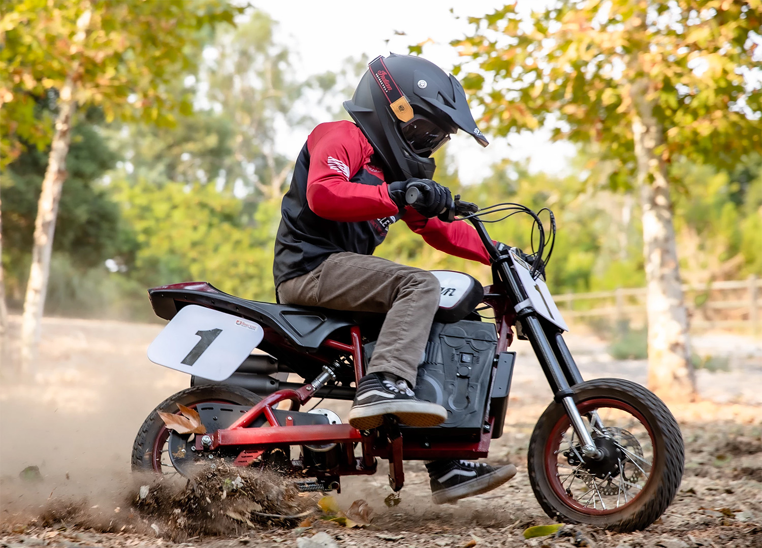 Indian Rolls Out an Electric Scrambler for the Kids at werd.com