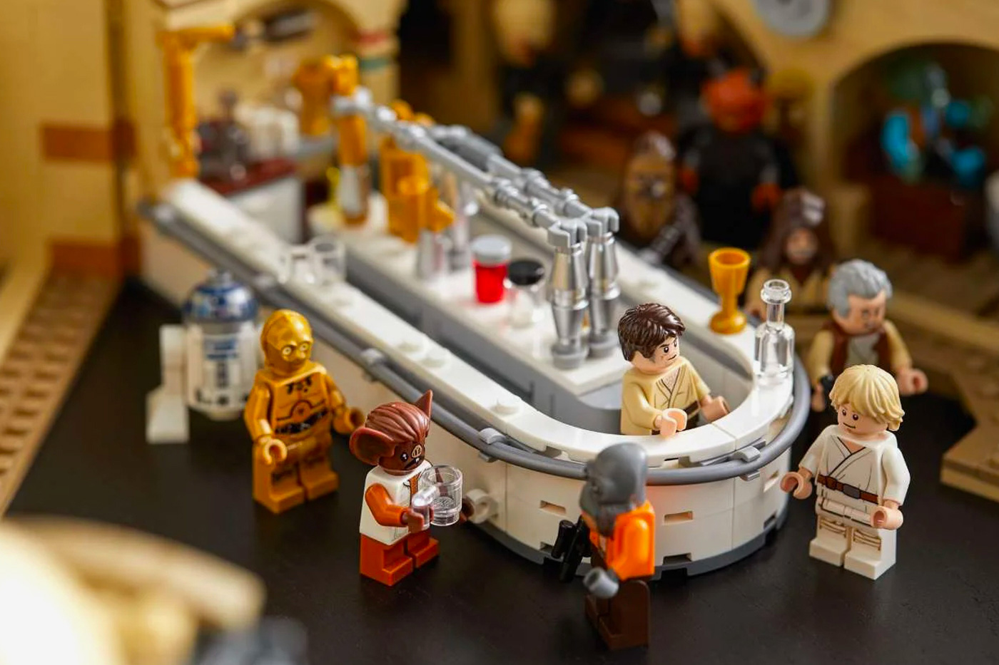 LEGO Launches Original Star Wars Cantina Set at werd.com