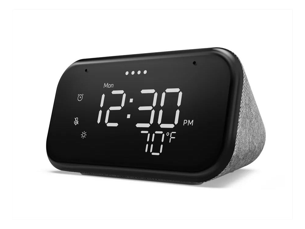 This Clock Gets Its Smarts from Google Assistant at werd.com