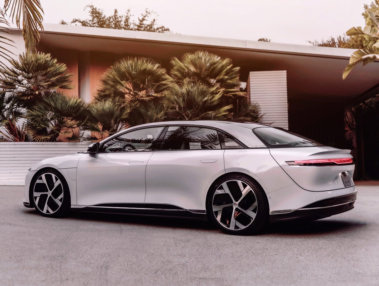 Lucid Launches 1080-Horsepower Luxury EV with Crazy Range at werd.com