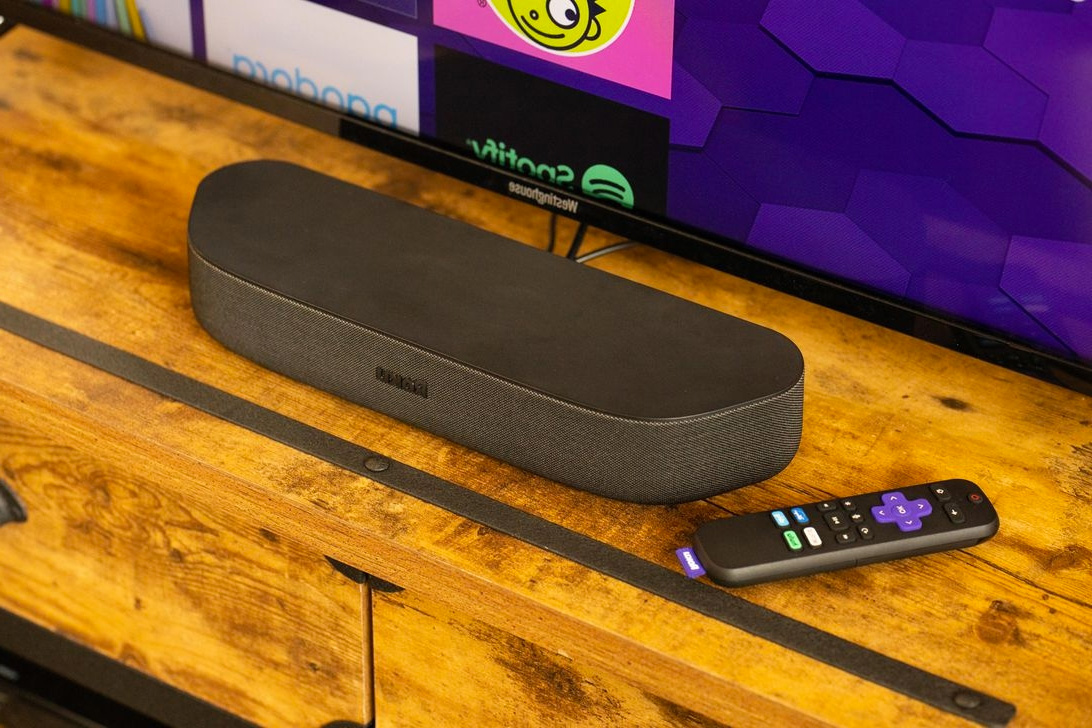 Stream in 4K UHD with Roku's Compact Streambar Speaker at werd.com