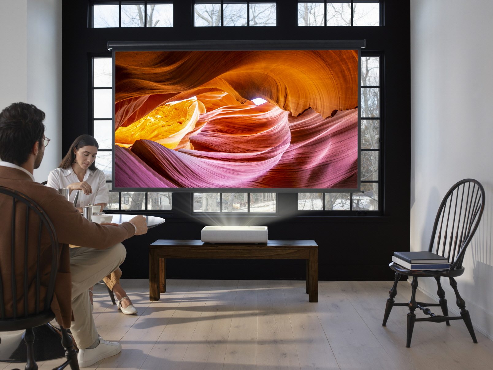 Samsung Debuts 4K UST Home Projector at werd.com