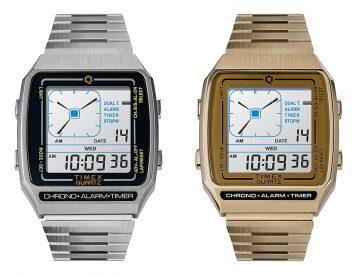 Timex Revives a Quartz Classic: The Q Timex Reissue LCA