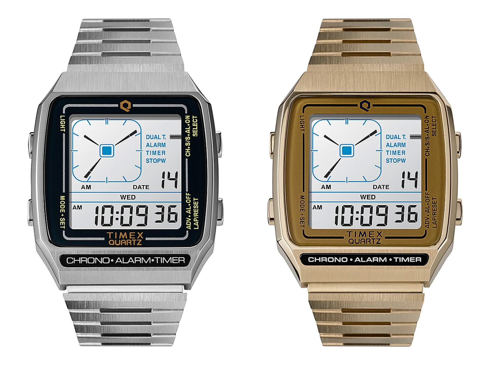 Timex Revives a Quartz Classic: The Q Timex Reissue LCA at werd.com