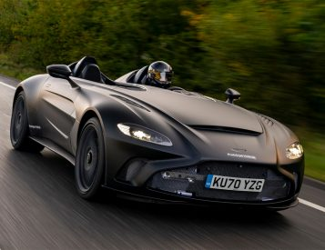 Early Images: Aston Martin V12 Speedster Races Toward Production