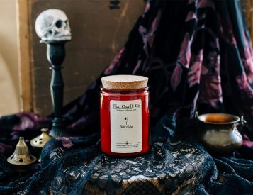 Set the Halloween Mood with Creepy Handmade Candles