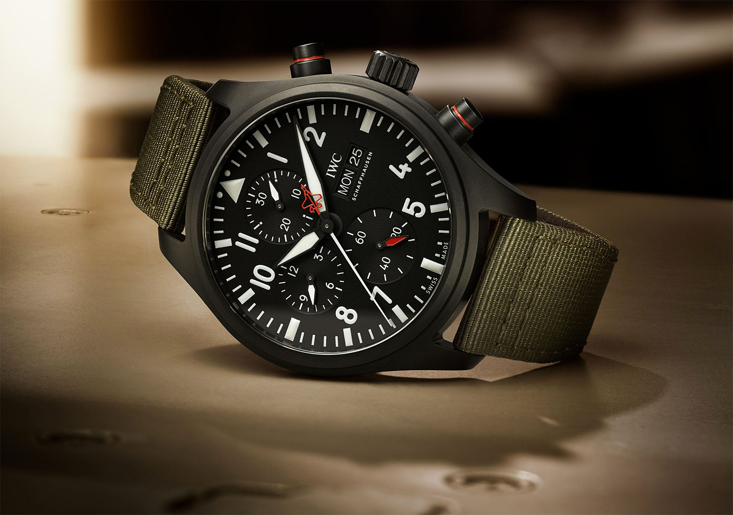 IWC Takes Flight with Top Gun Chronograph at werd.com