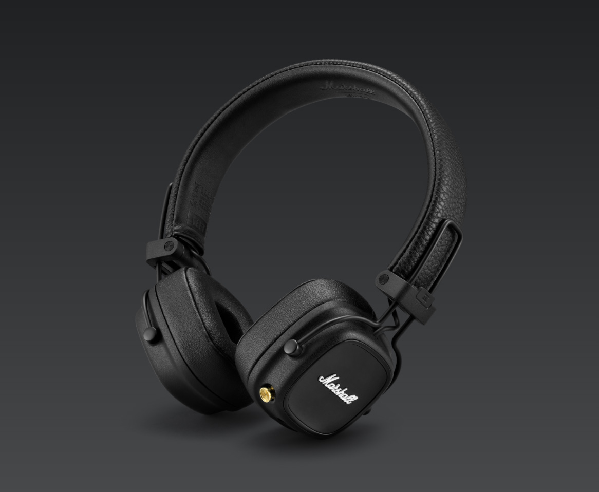 Marshall Unveils Qi-Enabled Major IV Headphones at werd.com