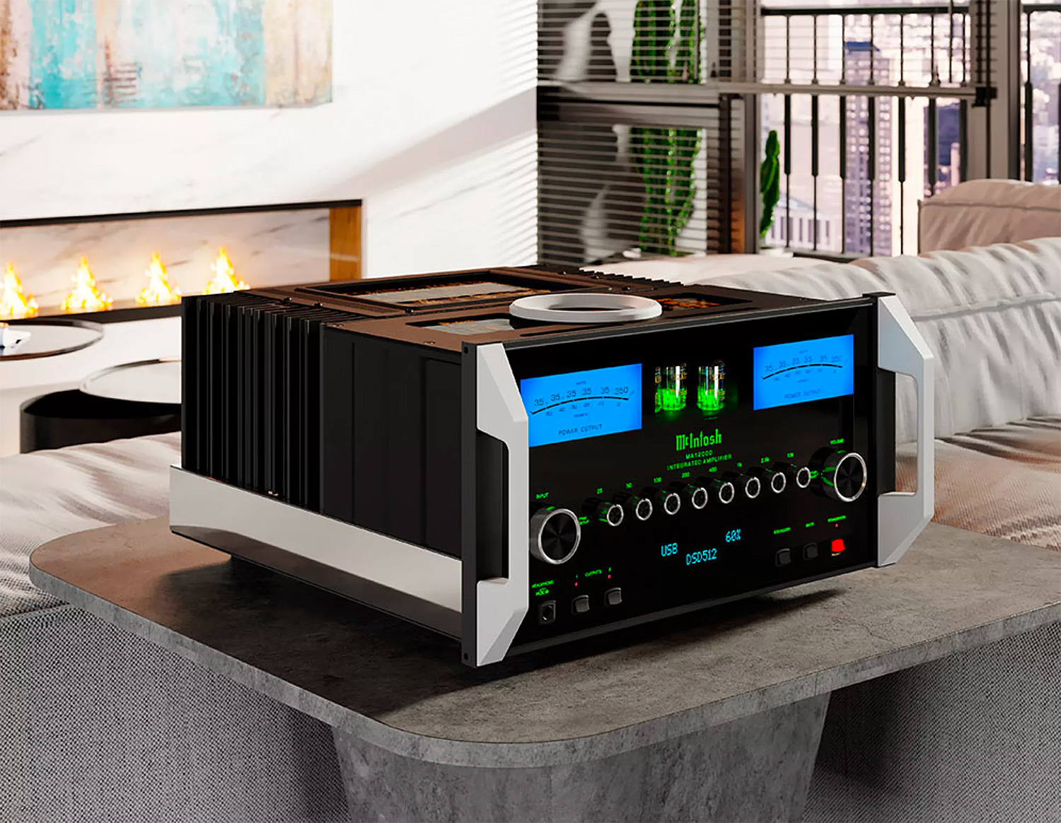 The MA12000 is the Most Powerful McIntosh Amp Ever at werd.com