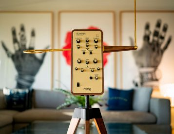 Moog Claravox Centennial Celebrates 100 Years Of Theremin