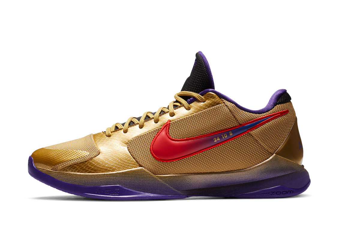 "Nike x Undefeated Unveil Kobe 5 Proto ""Hall Of Fame"" Edition at werd.com"