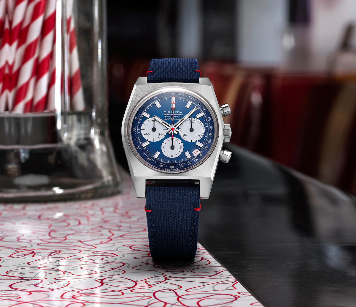 Zenith Blends Liberty & Luxe in Newest Chronomaster Revival at werd.com