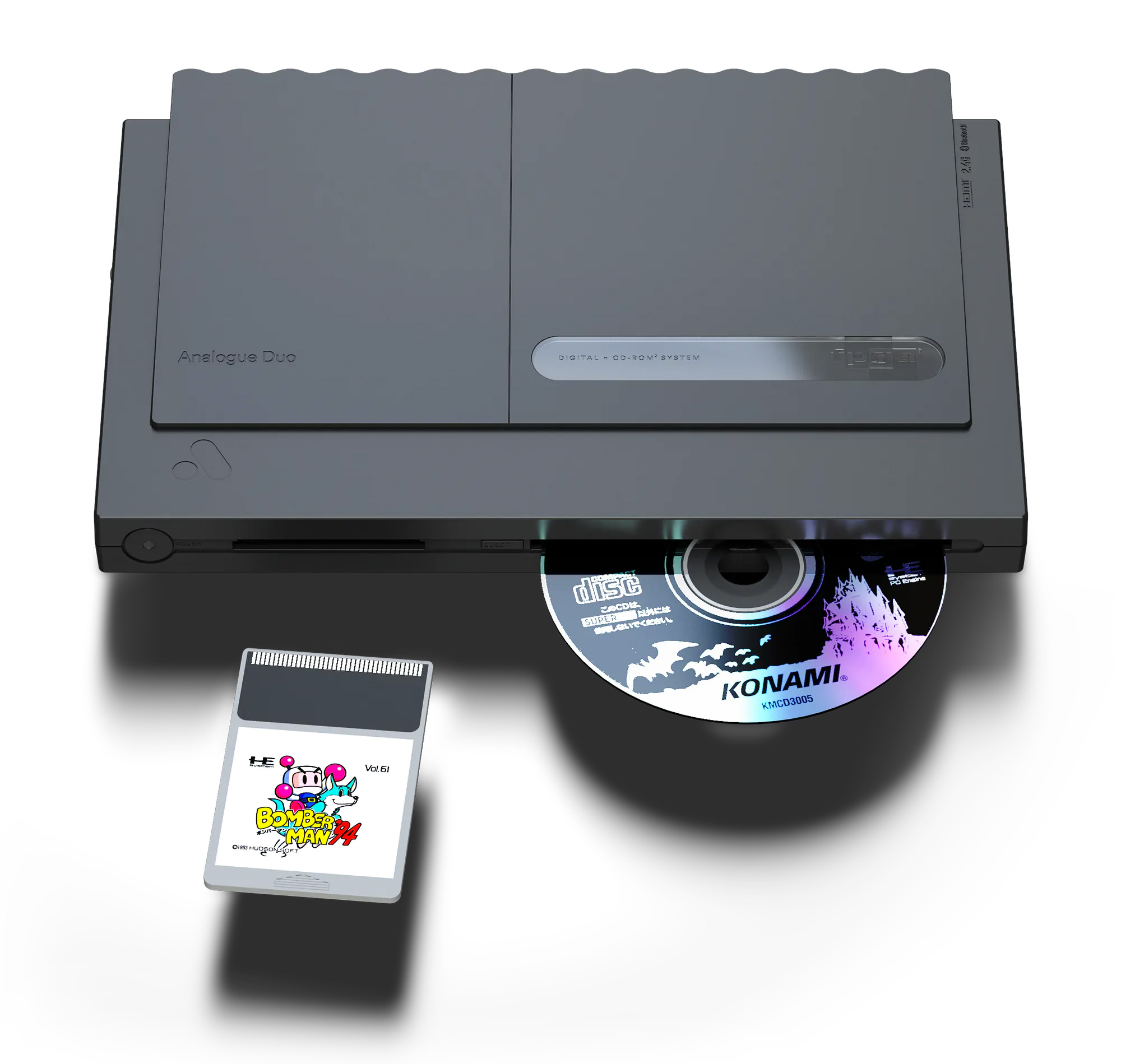 Analogue Duo System Revives Classic TurboGrafx Games at werd.com