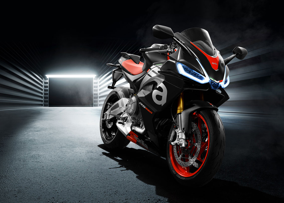 Aprilia Debuts Fast & Light RS 660 at werd.com