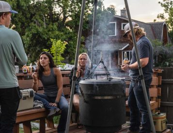 Grill, Smoker & Fire Pit In One: The Burch Barrel