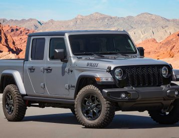 Jeep Rolls Out Off-Road Ready Gladiator Willys Edition
