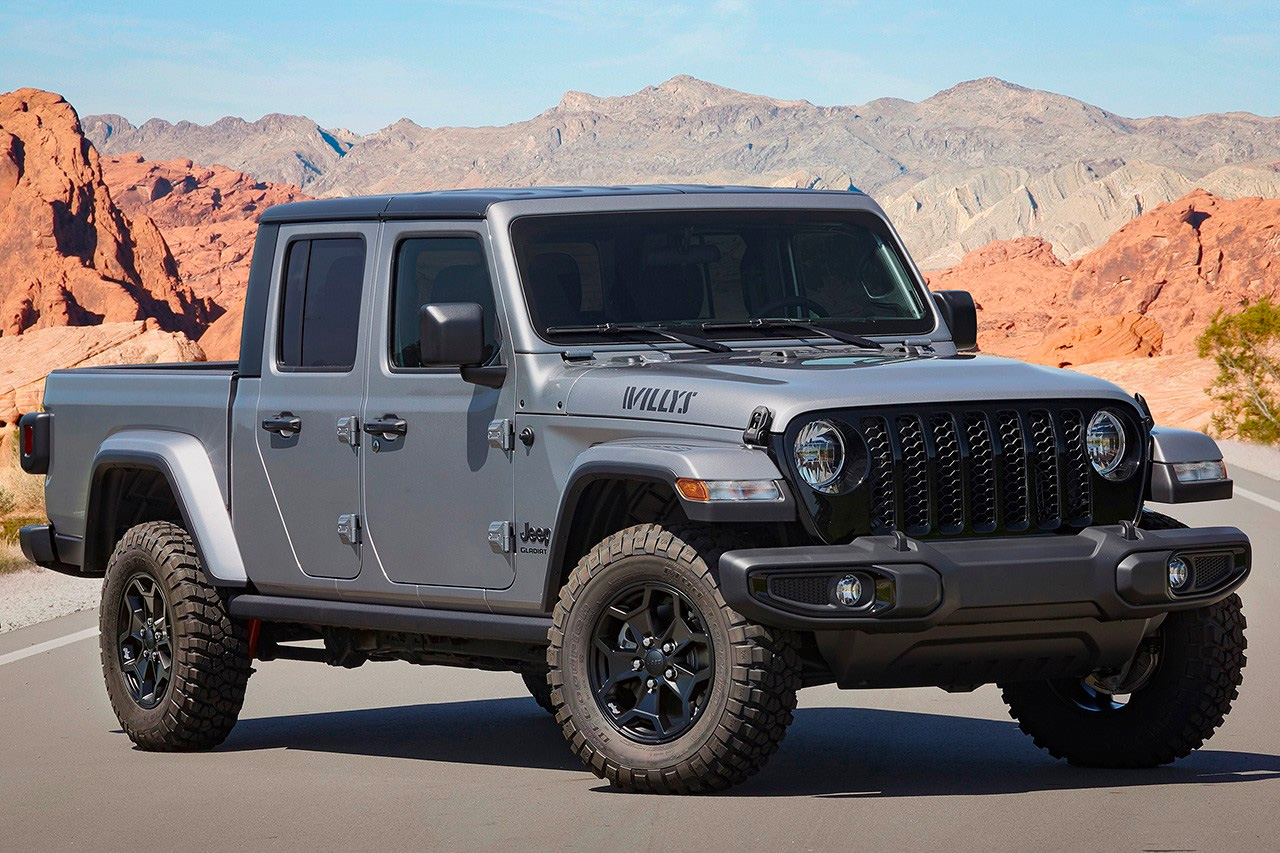 Jeep Rolls Out Off-Road Ready Gladiator Willys Edition at werd.com