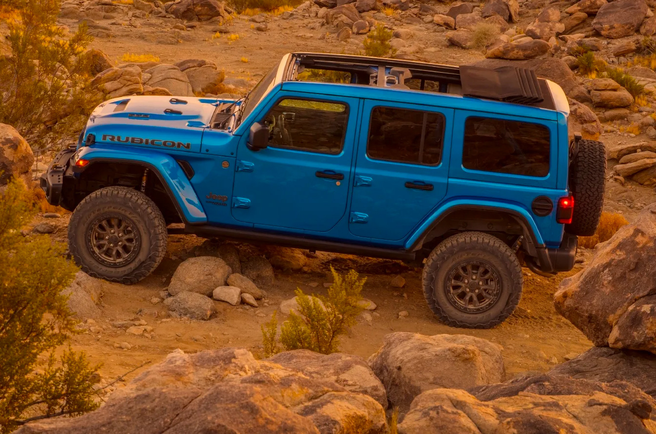 Hemi-Powered V8: Jeep's 2021 Wrangler Rubicon 392 at werd.com