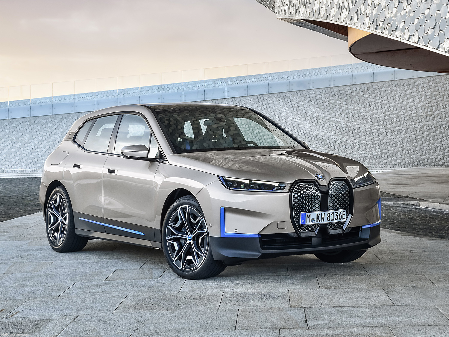 BMW Introduces the 2022 iX, a 500-Horsepower Electric Crossover at werd.com