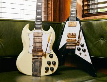 Gibson Unveils Jimi Hendrix Flying V & SG Custom Guitars