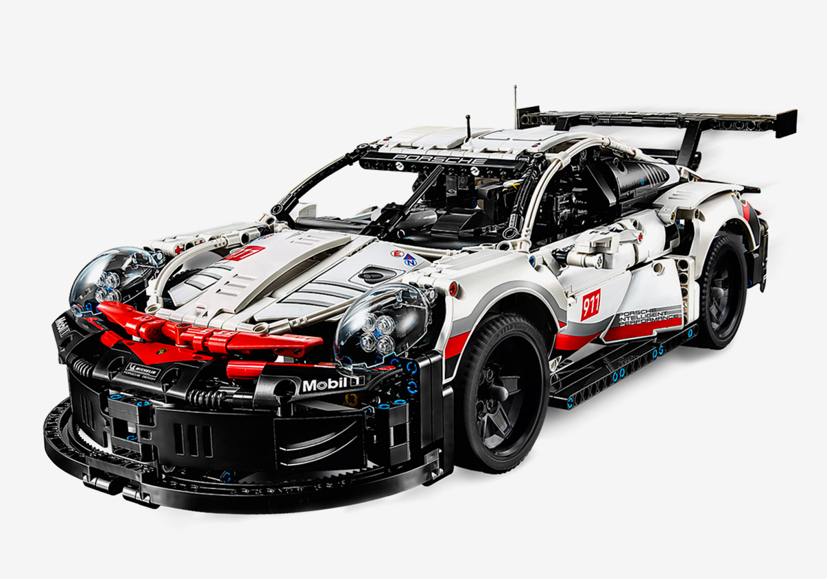 Lego x Porsche Design 911 RSR at werd.com