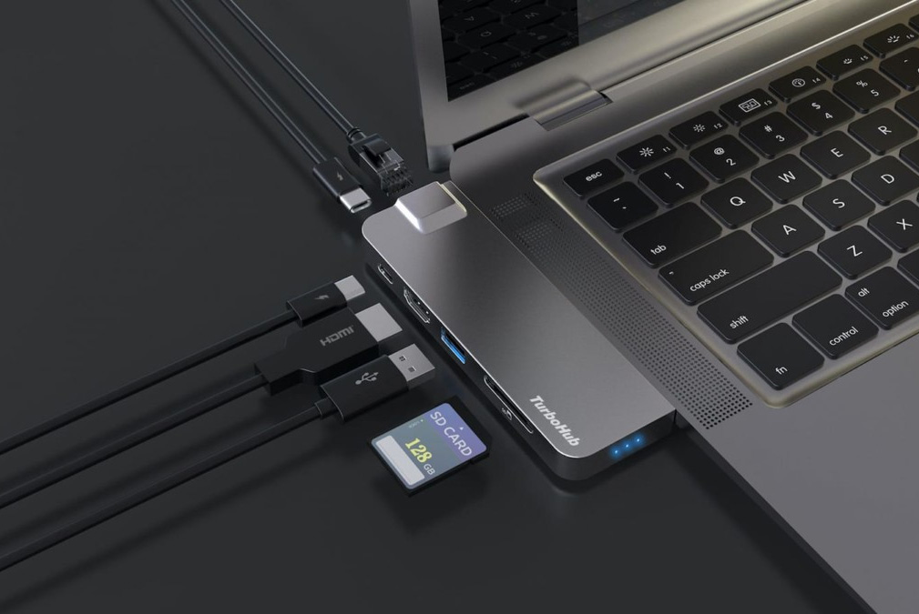 TurboHub: World's Fastest All-in-One SSD & Adapter at werd.com