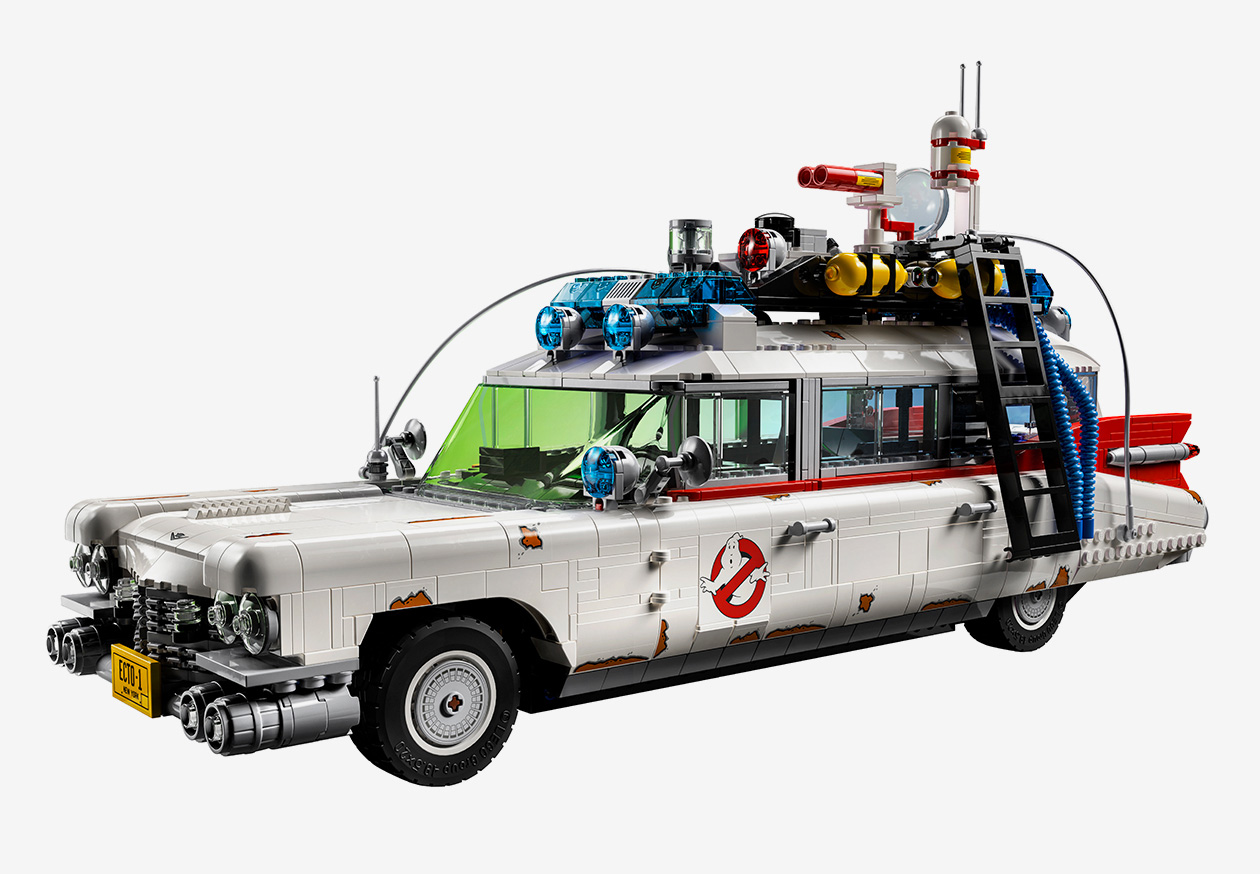 Lego Rolls Out 2,352-Piece Ghostbusters Ecto-1 at werd.com
