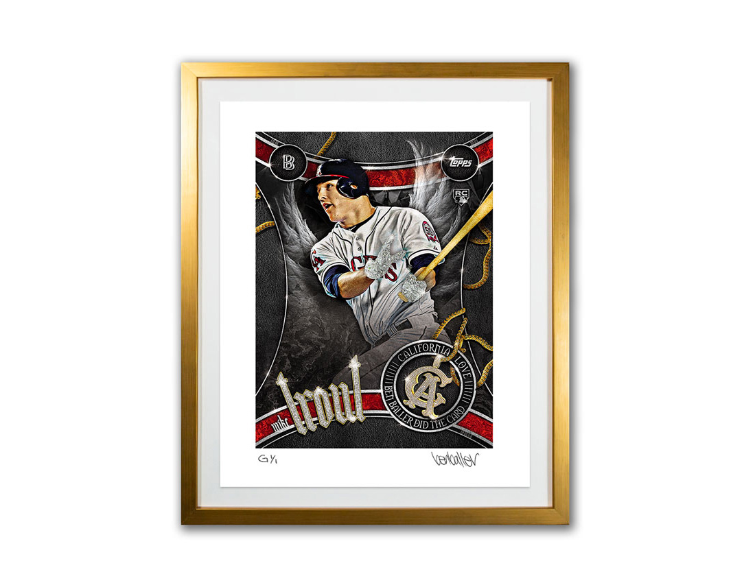 Topps' Limited Artist Prints Celebrate Baseball Card Icons at werd.com