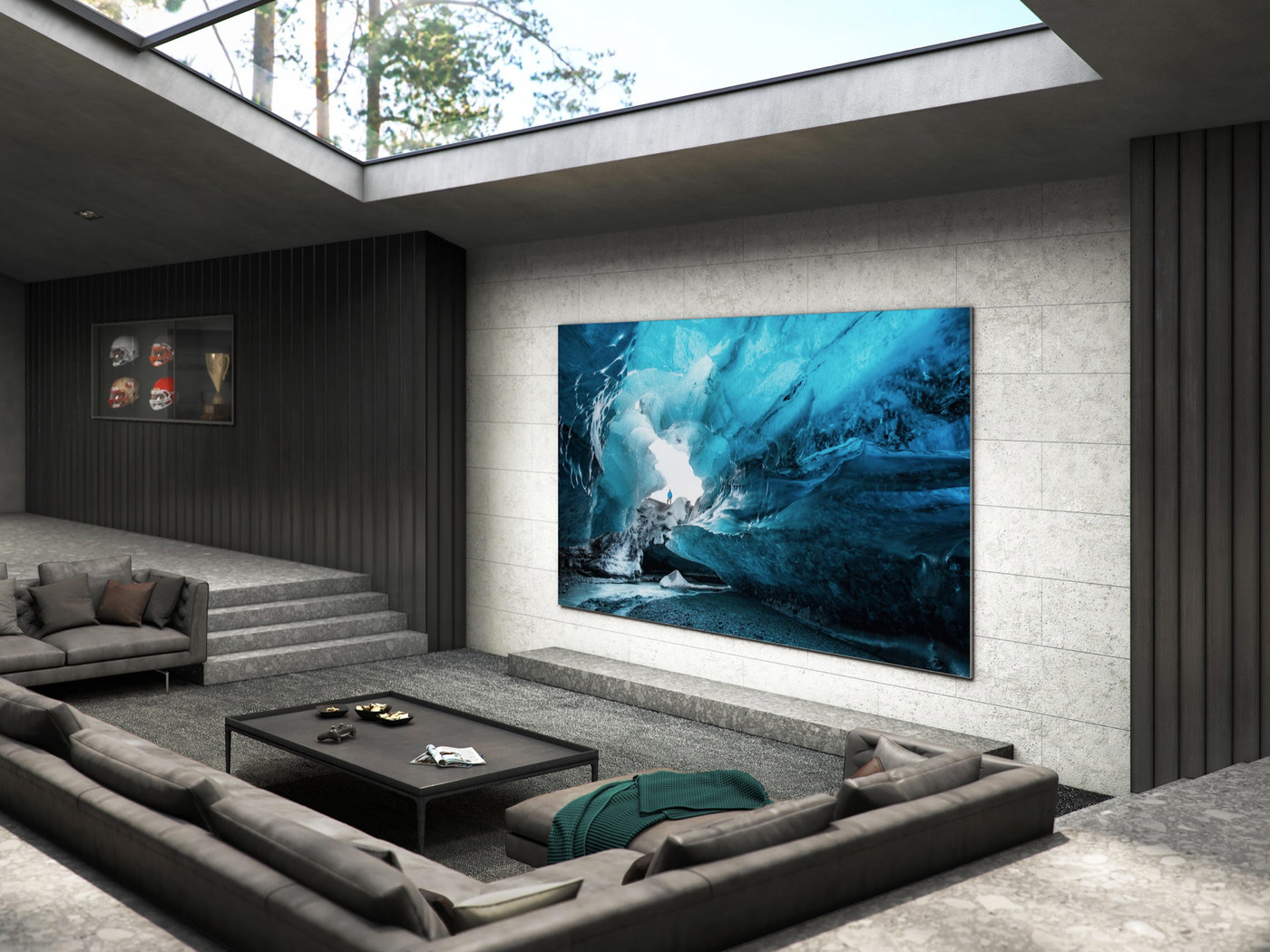 "Samsung Unveils ""The Wall"": 110-Inch MicroLED 4K TV at werd.com"