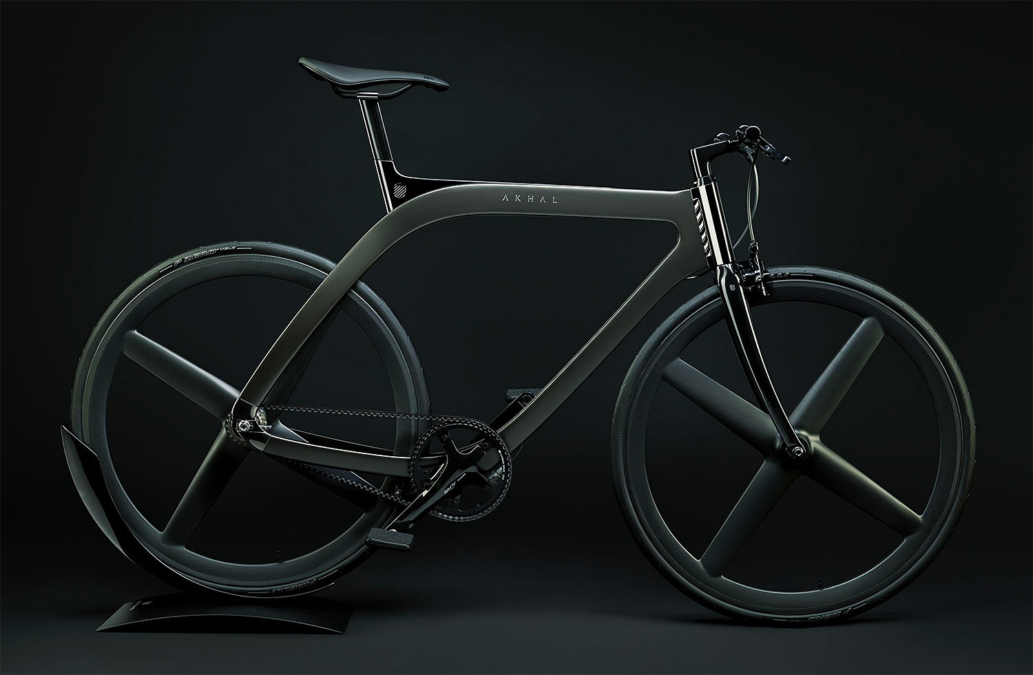 The Akhal Shadow is a Sleek Steed Inspired by a Purebred at werd.com