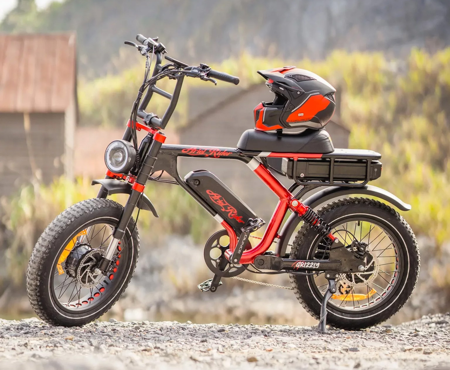 The Grizzly E-Bike Doubles Down On Power at werd.com