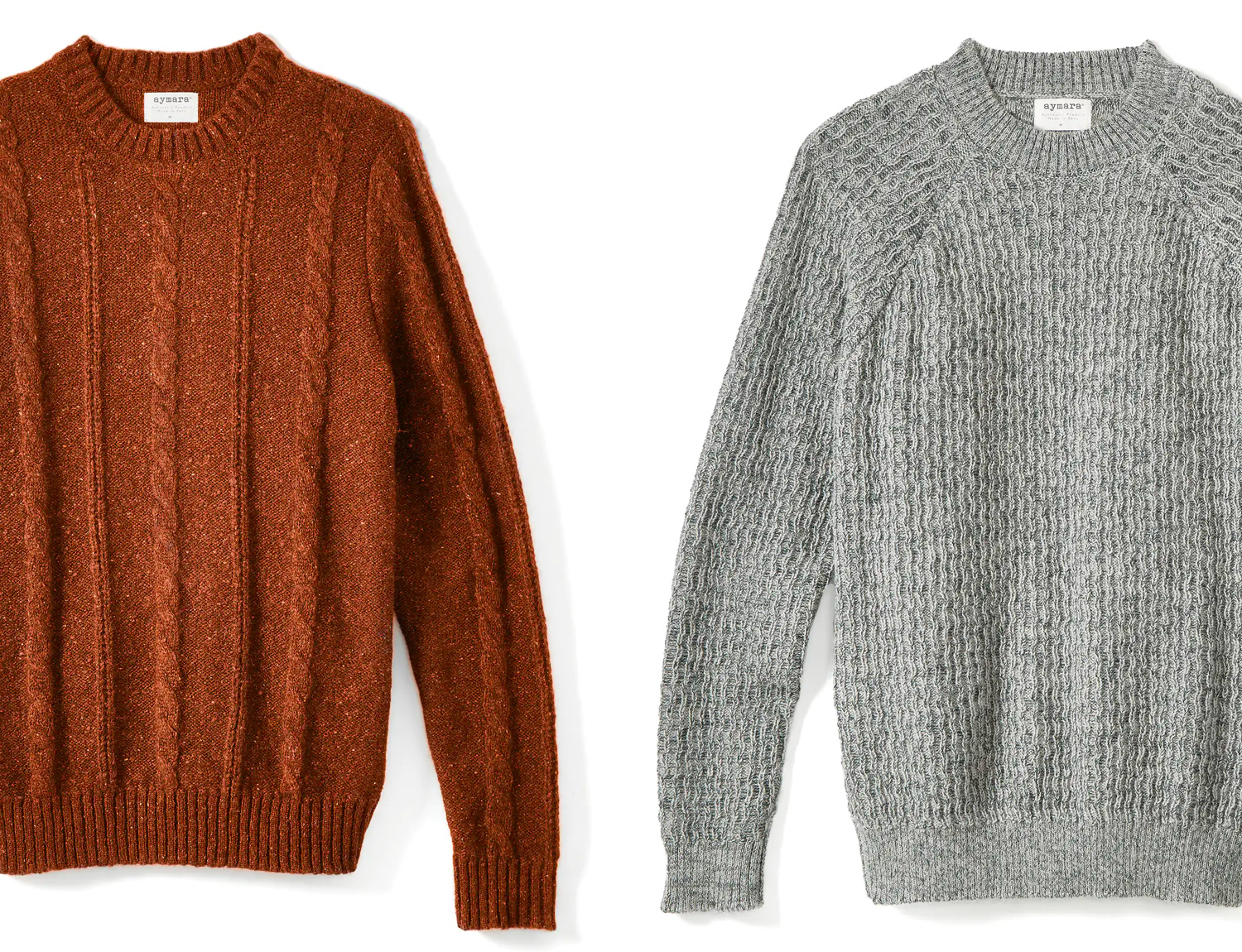 Warm & Soft: Alpaca & Merino at werd.com