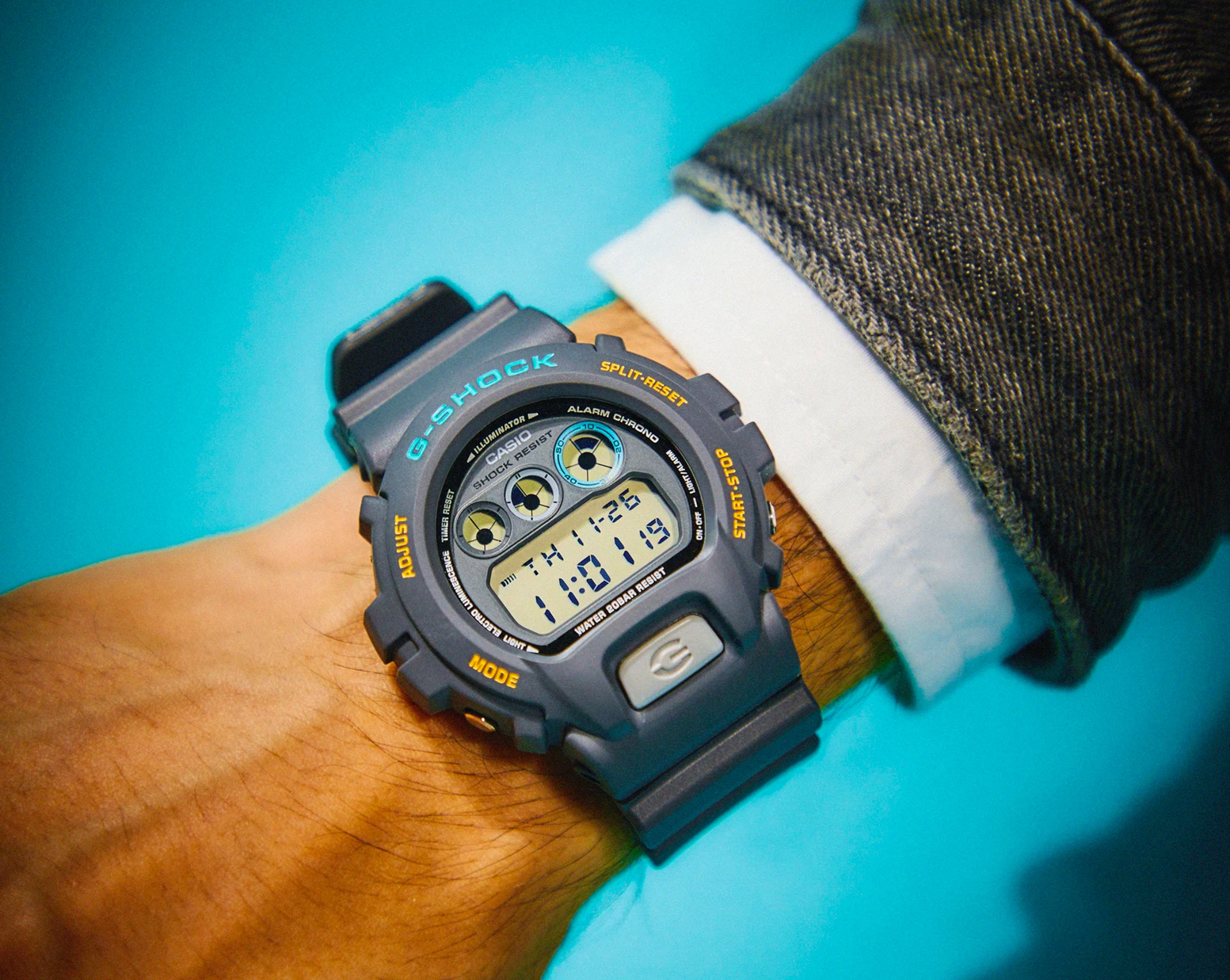 80s Spin on a Modern Classic: G-Shock Ref. 6900 John Mayer at werd.com