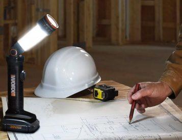 Cordless & Versatile LED Flashlight from Worx
