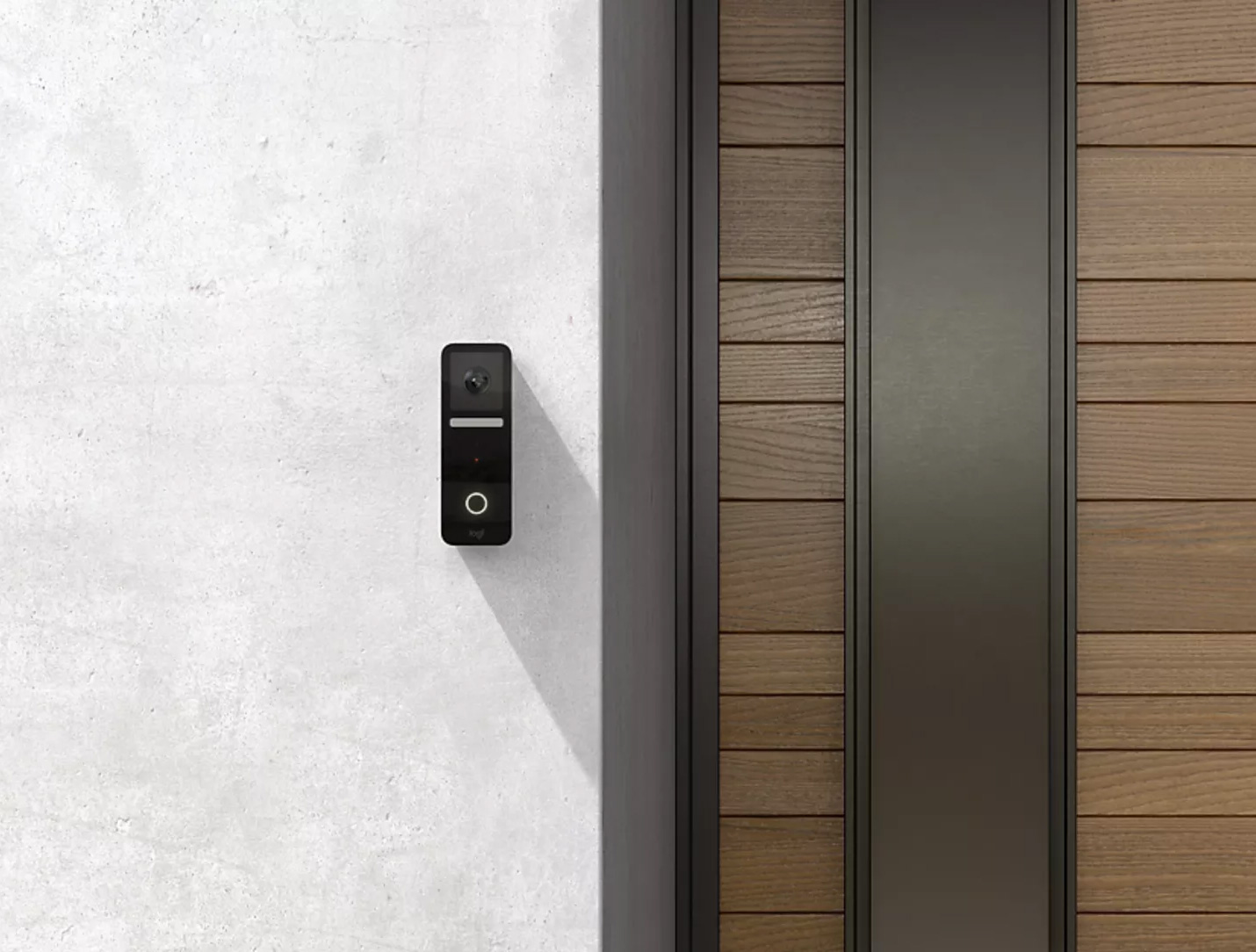 Logitech Smart Doorbell Designed for Your Apple Life at werd.com