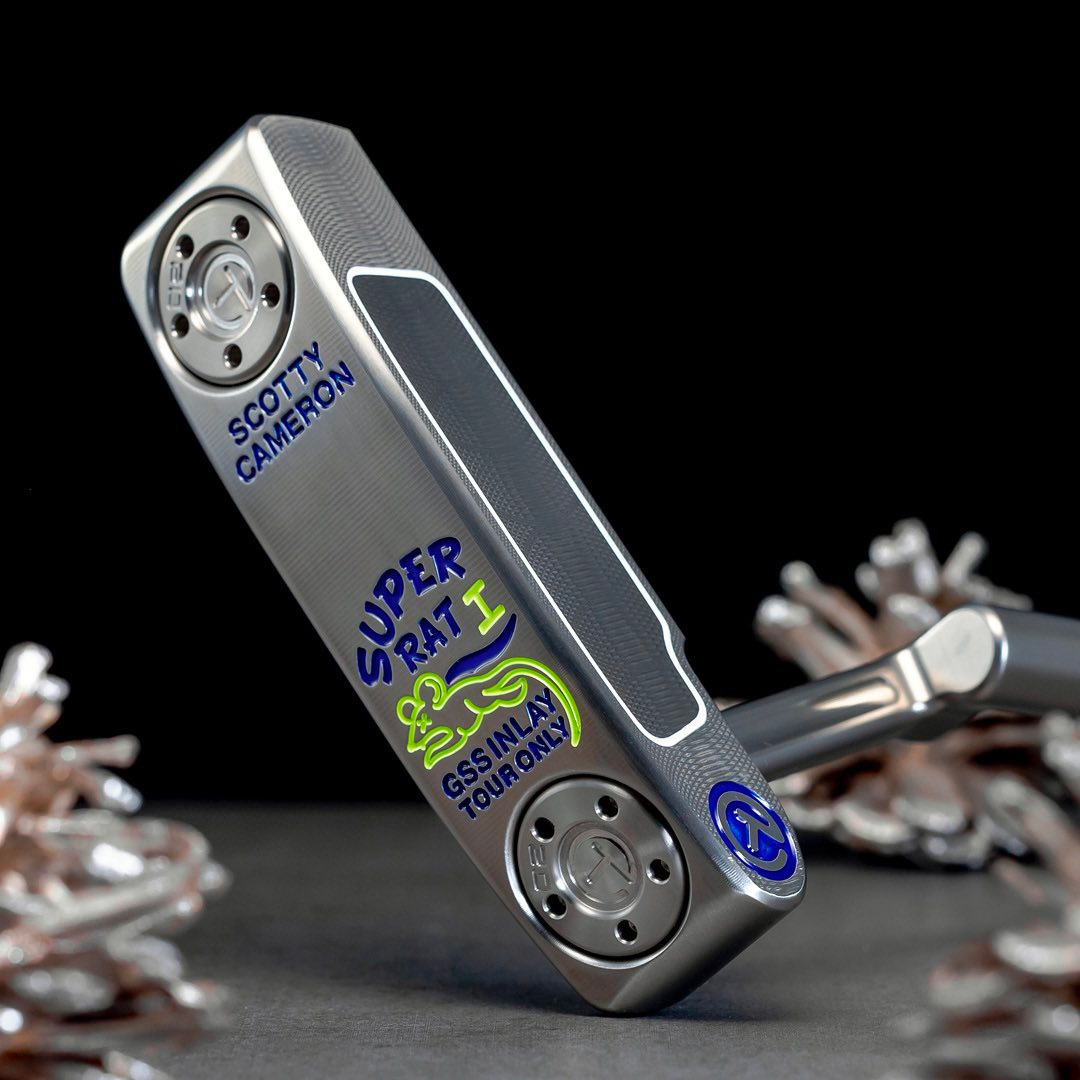 Introducing the Scotty Cameron Super Rat 1 Putter at werd.com